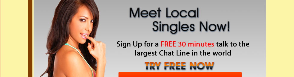 Free chat line dating